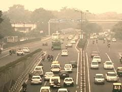Haze Descends In New Delhi Ahead Of Diwali, Air Hazardous