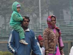 Cold Morning In Delhi As Minimum Temperature Dips To 4.8 Degrees Celsius