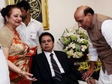 Dilip Kumar Receives Padma Vibhushan Honour