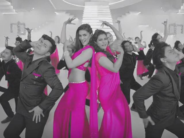 Dilwale Shah Rukh, Kajol, Varun, Kriti Sing Tukur Tukur
