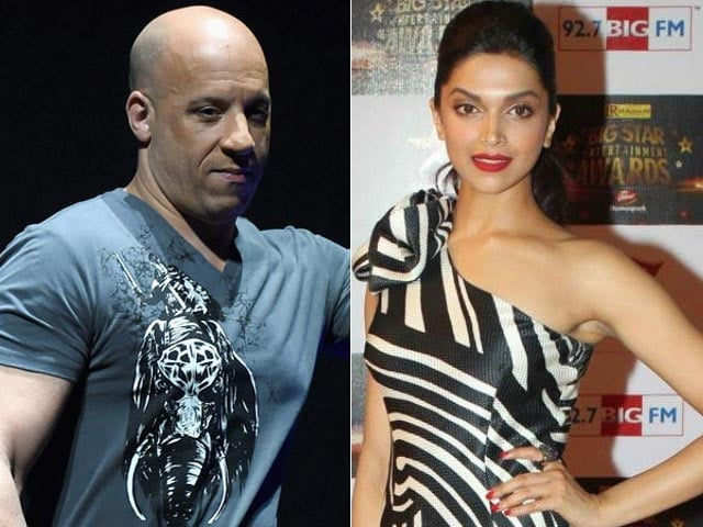 This Pic of Deepika Padukone Hugging Vin Diesel Has xXx Fans in a Tizzy