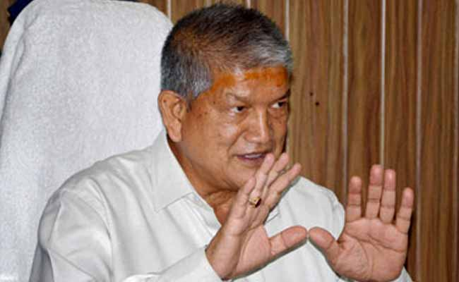 Will Resign From Politics If BJP Can Prove Its Charge: Harish Rawat