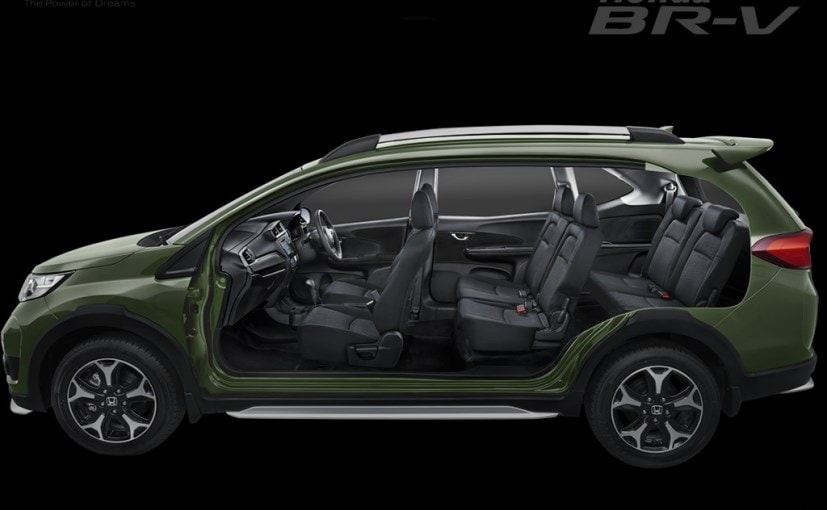 Honda br v production version unveiled to be showcased at for Honda 7 seater suv