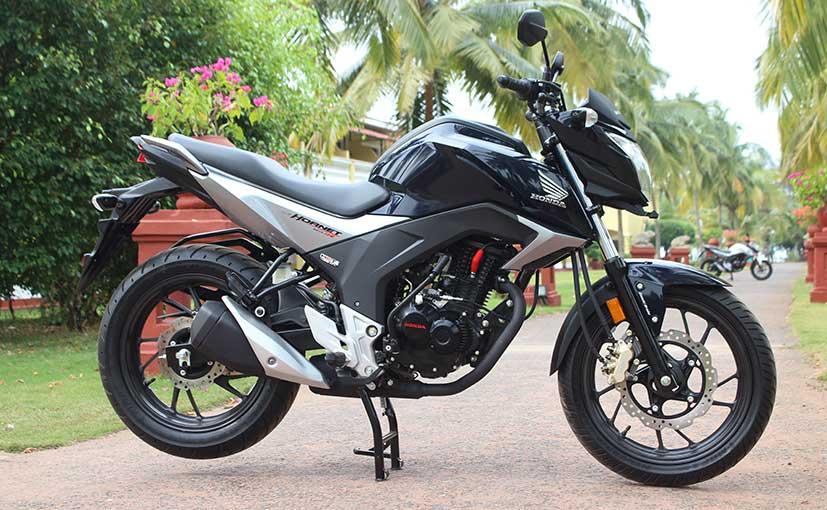 Honda CB Hornet 160R Side