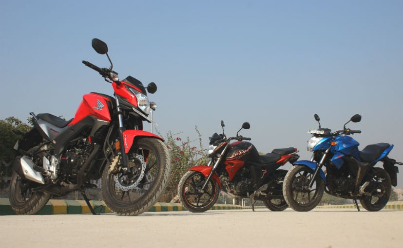 Honda CB Hornet 160R vs Suzuki Gixxer vs Yamaha FZ-S FI V2.0: Comparison Review