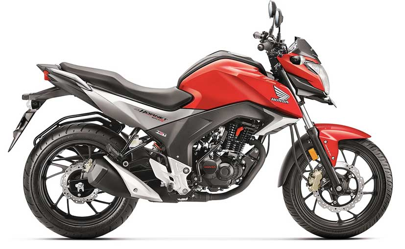 Honda CB Hornet 160R Launched at &#8377 79,900