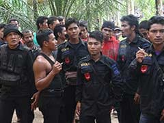 Former Separatist Fighters Surrender In Indonesia's Aceh Province