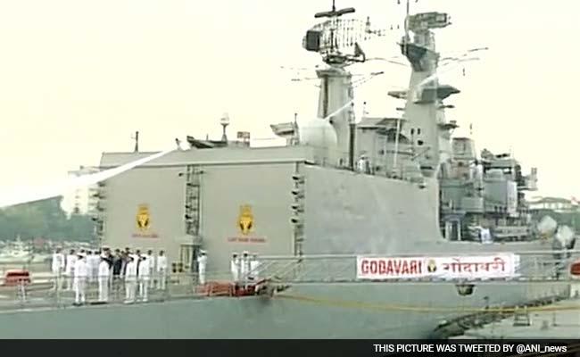 INS Godavari, First Indigenously Designed Warship, Decommissioned In Mumbai