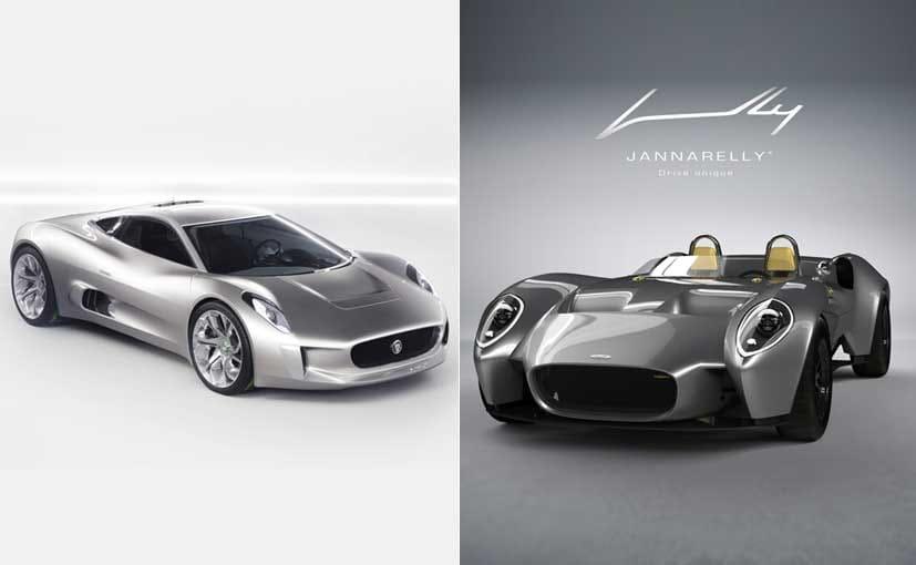 Jannarelly Automotive Unveils Design Sports Car NDTV CarAndBike - Simple sports car