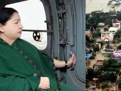 Central Team For Flood Damage Assessment Meets Chief Minister Jayalalithaa