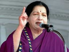 Opposition Carrying Out Campaign Of Lies Against AIADMK: Jayalalithaa