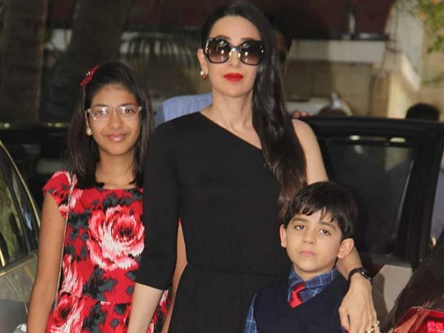 Once Again, Karisma's Estranged Husband Files Application For Kids' Custody