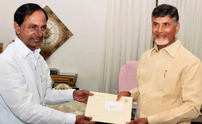 kcr and chandrababu naidu