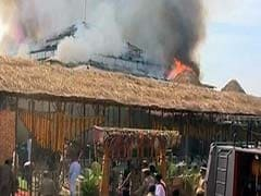 Fire Breaks Out At K Chandrasekhar Rao's Rs 7-Crore 'Yagna' in Telangana