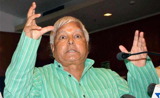 राजद अध्यक्ष लालू प्रसाद यादव ने आम बजट को बताया 'निराशाजनक'