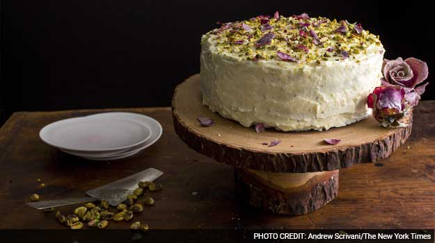 A Creamy Layer Cake Inspired by India