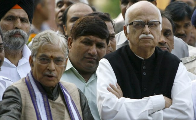 LK Advani, MM Joshi To Attend Ayodhya Ceremony Via Video Conference