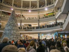 Protests Shut Down Famed Mall Of America