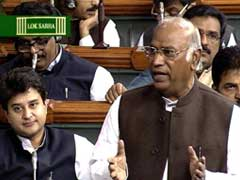 Congress Members Continue To Disrupt Lok Sabha, Stage Walkout