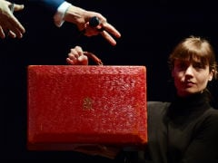 Margaret Thatcher's Red Ministerial Box Sells For £242,500