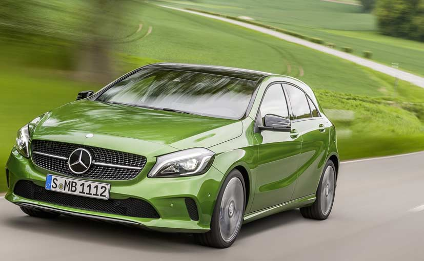 new car launches todayNewGen MercedesBenz AClass to be Launched in India Today  NDTV
