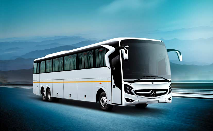 mercedez benz launches super high deck luxury bus in india