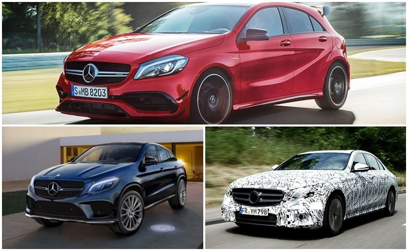 upcoming mercedes benz cars to be launched in india in