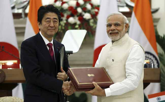 Prime Minister Modi To Hold Road Show With Japanese PM In Ahmedabad
