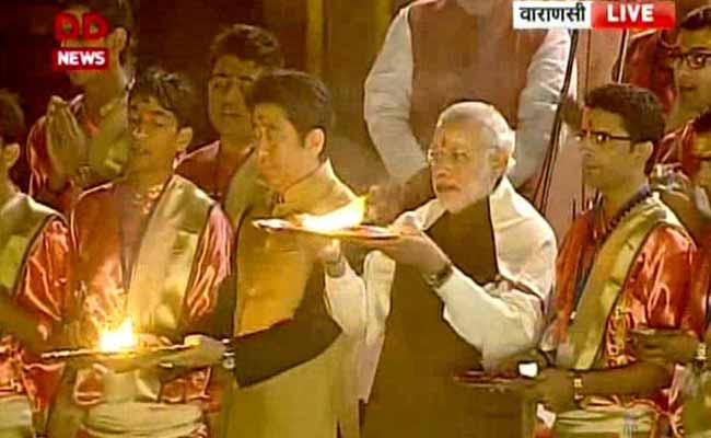 PM Modi, Shinzo Abe Make Offerings to Ganga in Varanasi: 10 Developments