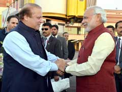 PM Narendra Modi Greets Pak's Nawaz Sharif On Birthday