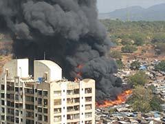 गुरुग्राम : भीषण आग में 250 से ज्यादा झुग्गियां जलकर खाक