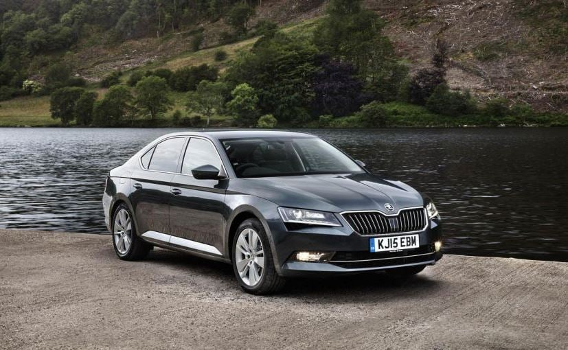 new car launches todayNew Generation Skoda Superb to Be Launched in India Today  NDTV