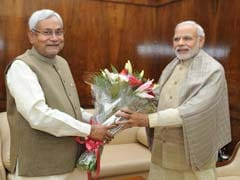 Nitish Kumar Meets President, PM Modi On First Visit After Election Win