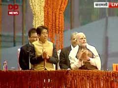 Japan PM Shinzo Abe Visits Varanasi with PM Modi: Live Updates