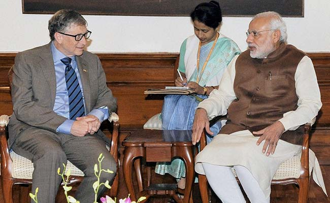 Bill Gates Congratulates PM Modi On Poll Win