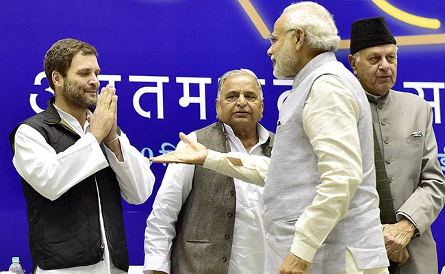 PM Alleges 'Pak Meddling', Rahul Gandhi Says Stick To Gujarat: 10 Points