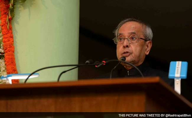 Education Should Aim At Building Character: President Pranab Mukherjee
