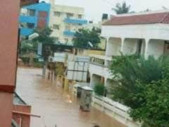 Rain Batters Puducherry; Localities Flooded, Normal Life Hit