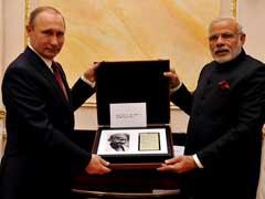 Vladimir Putin Gifts PM Modi Gandhi's Notes, 18th Century Indian Sword