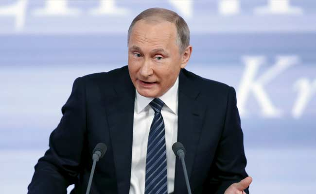 Vladimir Putin Names United States Among Threats In New Russian Security Strategy