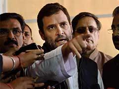 Rahul Gandhi To Visit Amethi On December 23-24