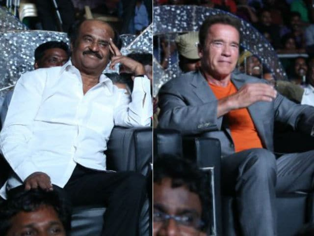 Arnold Schwarzenegger May Not be a Part of Rajinikanth's Enthiran 2