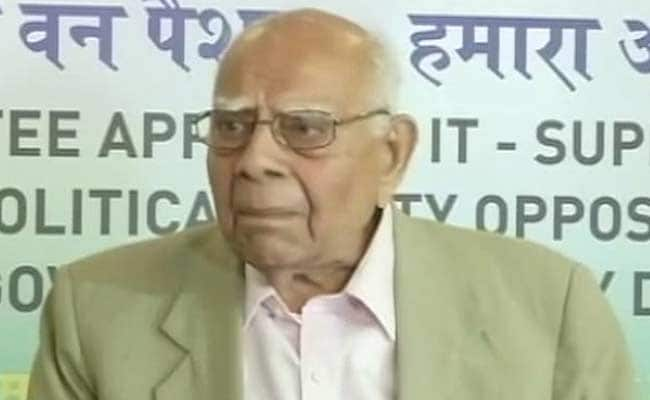 Ram Jethmalani Announces Retirement, Takes Parting Shot At Government