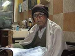 हिन्दी कवि रामदरश मिश्र को 'आग की हंसी' के लिए साहित्य अकादमी पुरस्कार