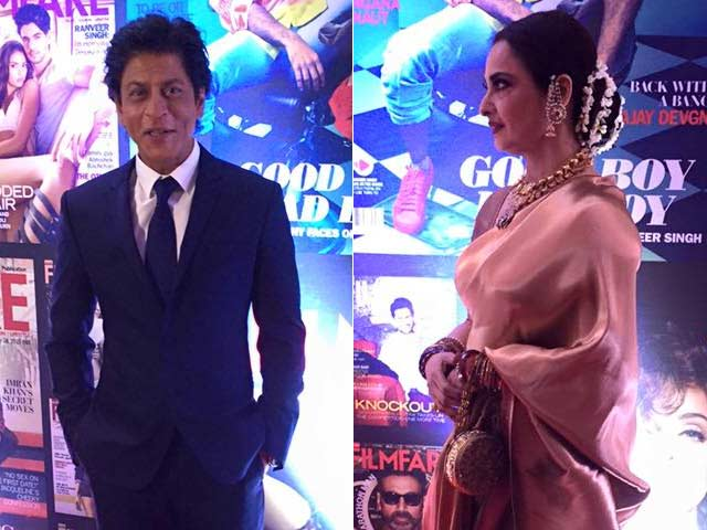 Shah Rukh Khan's Hilarious Exchange With Rekha Will Leave You ROFL