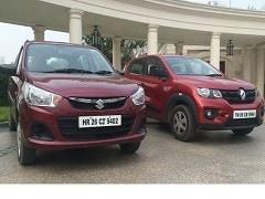 Renault Kwid बनाम Maruti Suzuki Alto: दोनों गाड़ियों के बीच अंतर जानें