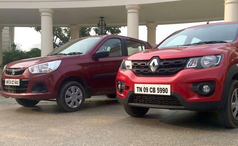 Comparison: Renault Kwid vs Maruti Suzuki Alto