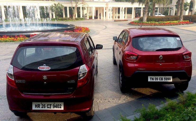 Renault Kwid vs Maruti Suzuki Alto