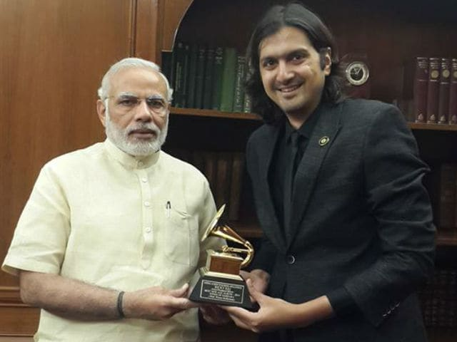 PM Modi Launches Ricky Kej's New Album in Paris