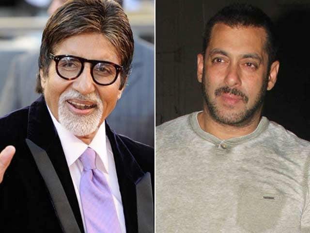 Salman Khan Scores Nomination With Amitabh Bachchan at BIG Star Awards